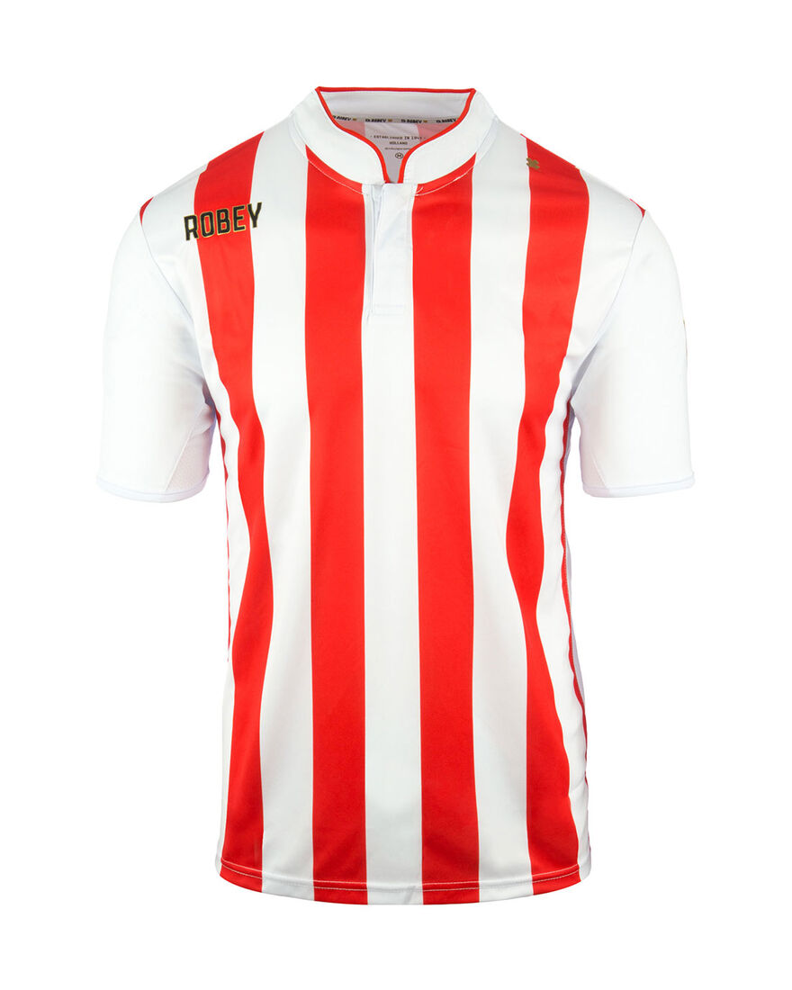 Shirt Winner SS, Red/White Stripe, hi-res