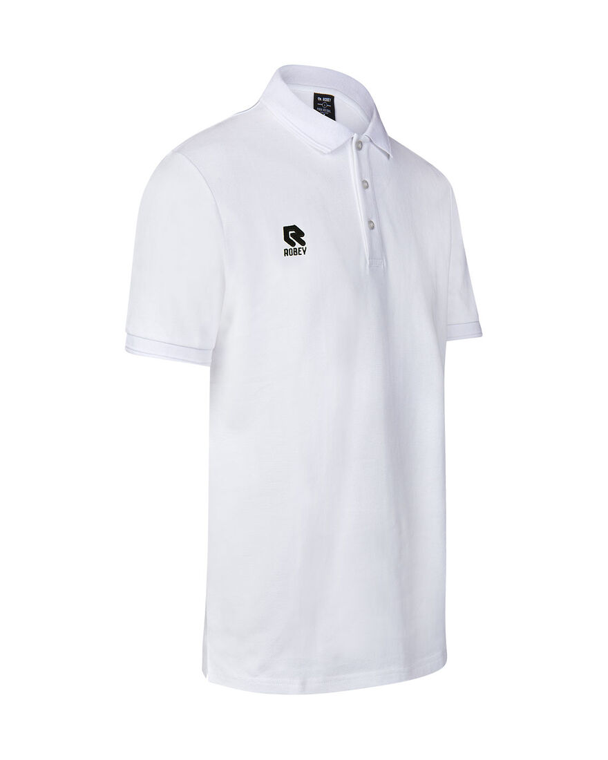 Off Pitch Polo, White, hi-res