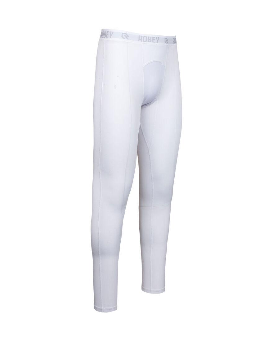 Baselayer Pants, White, hi-res