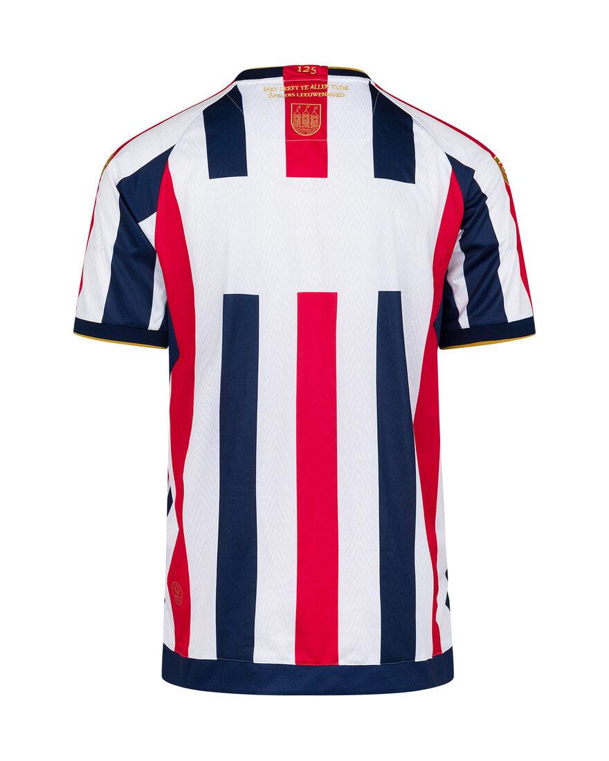 Willem II Match Shirt 21/22 SS, Red/White, hi-res