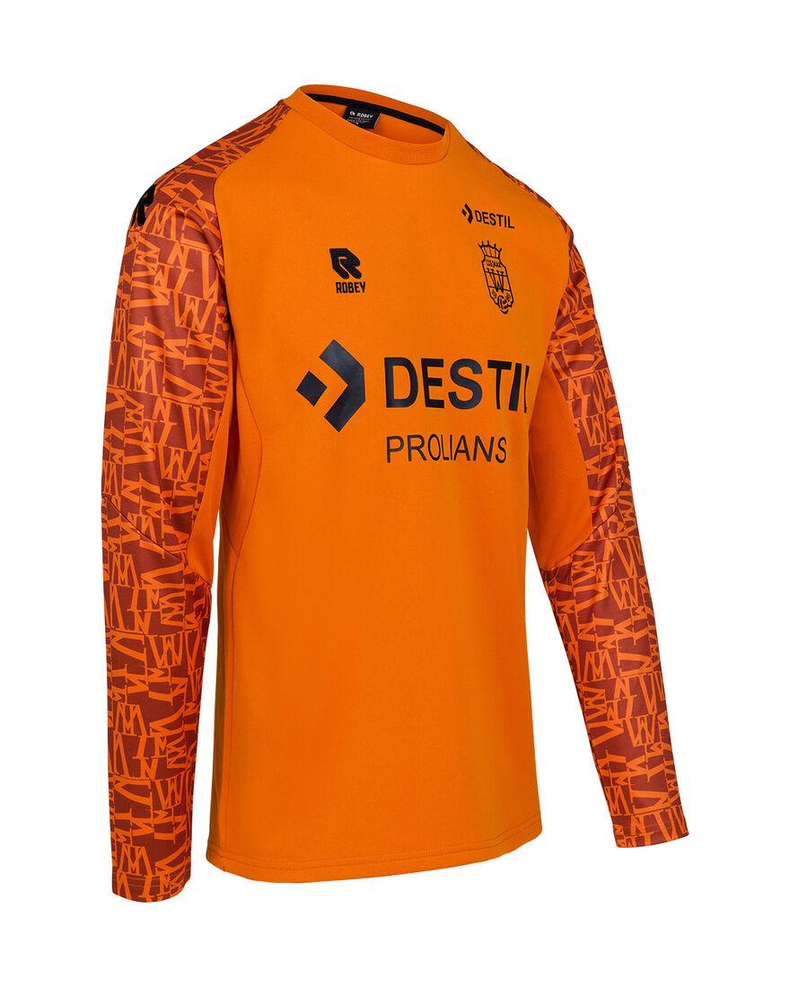 Willem II Performance Sweater 21/22, Orange/Miscellaneous, hi-res