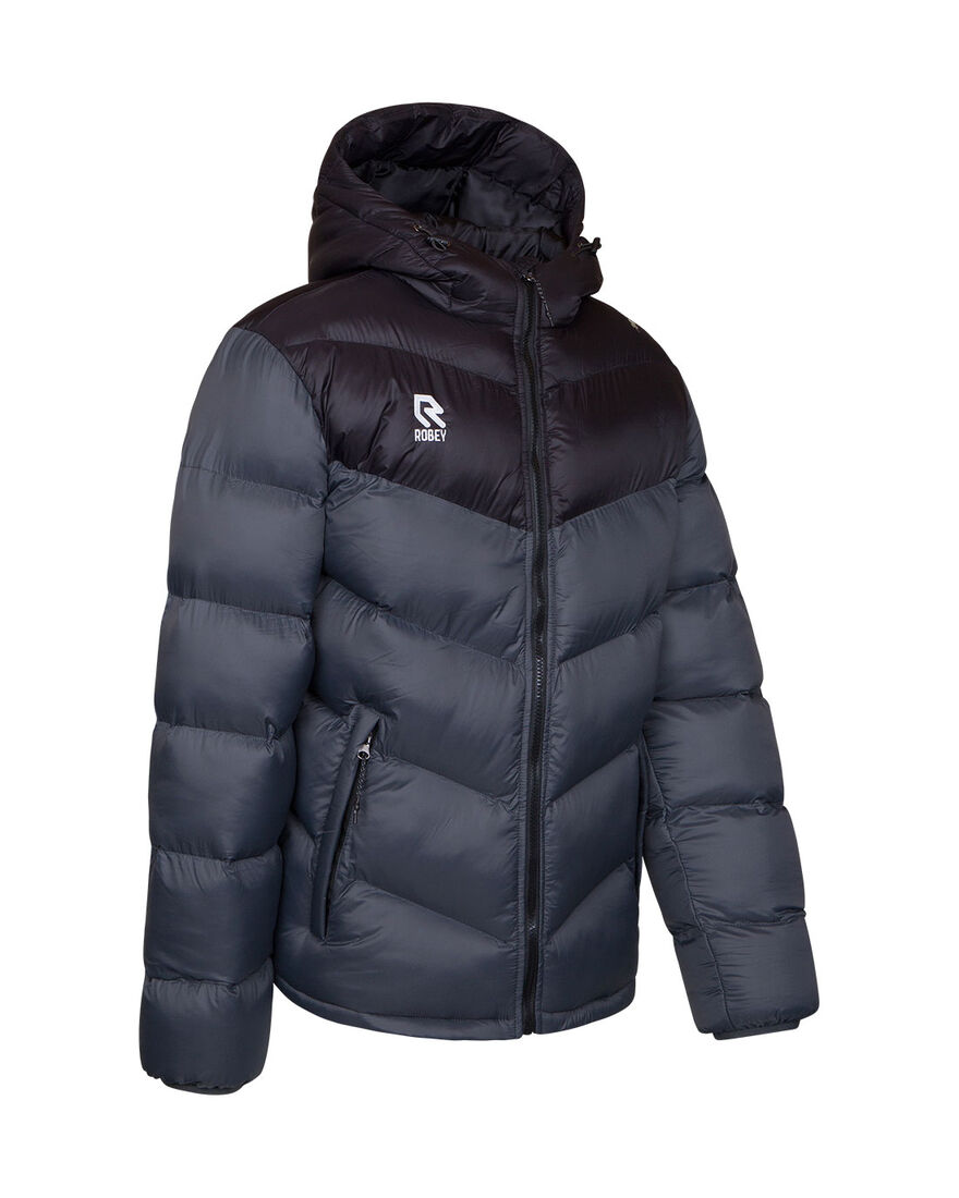 Performance Padded Jacket, Grey/Black, hi-res