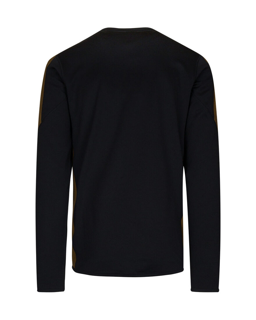 Performance Sweater, Black/Gold, hi-res