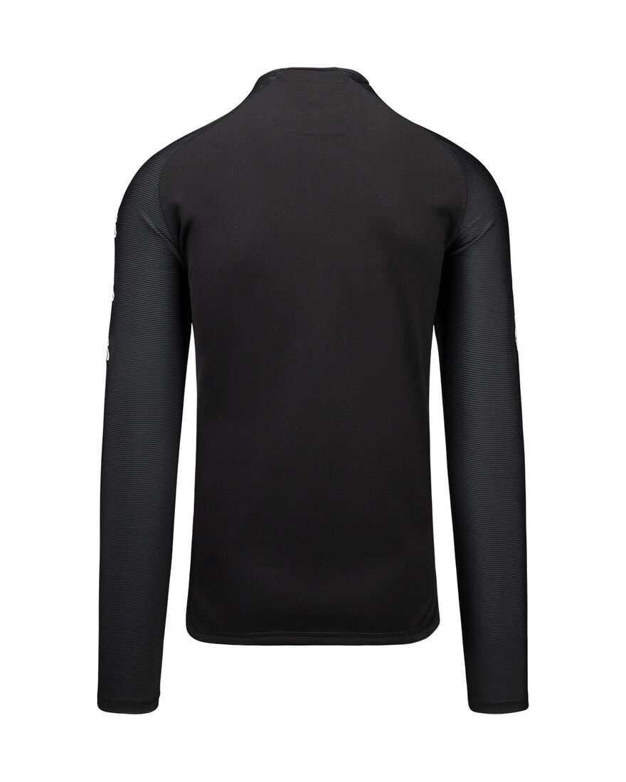Performance Half-Zip Top, Black, hi-res