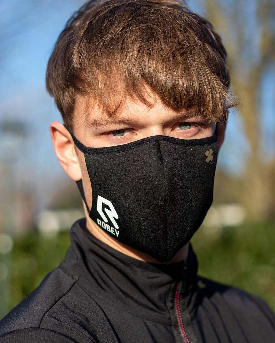 Facemask, Black, hi-res