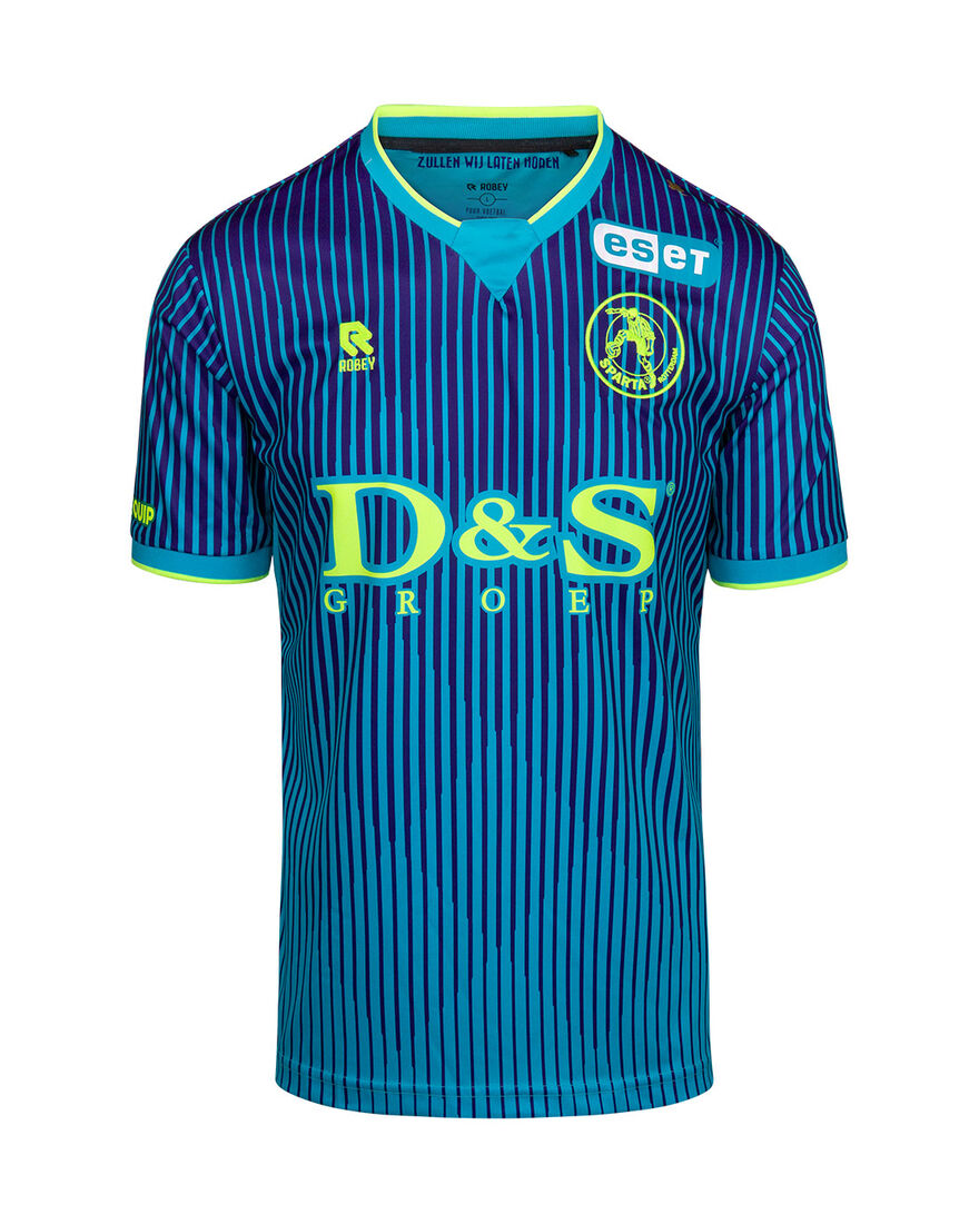 Sparta Match Shirt 20/21 SS, Green, hi-res