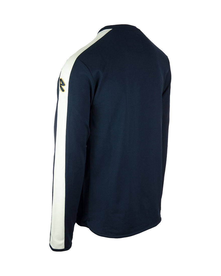 Performance Sweater, Navy/White Stripe, hi-res