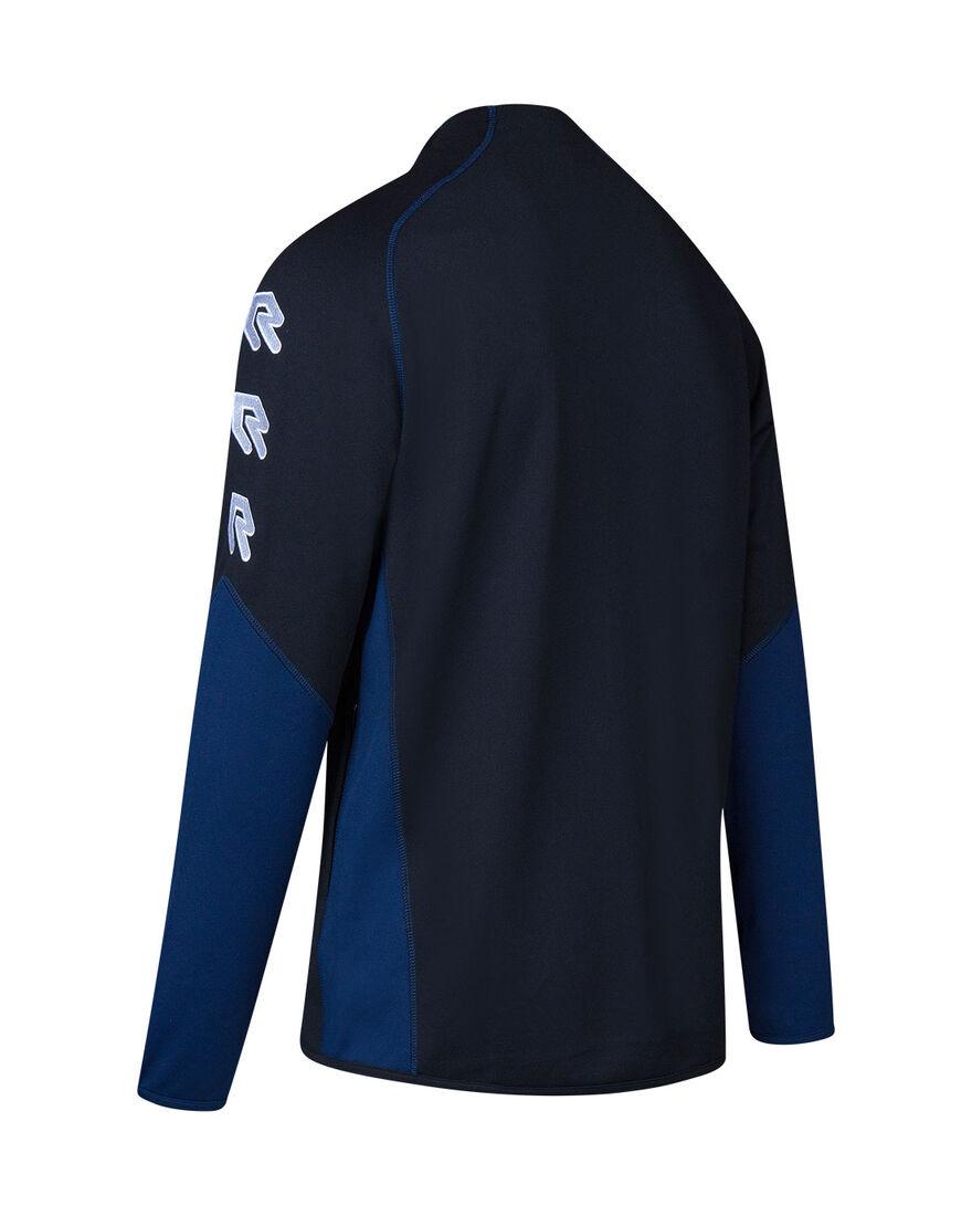 Performance Full-Zip Jacket, Black/Navy, hi-res