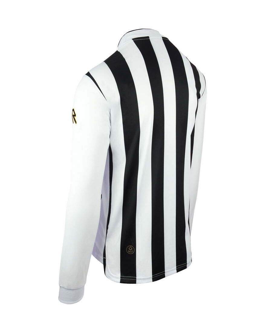 Shirt Winner LS, Black/White Stripe, hi-res