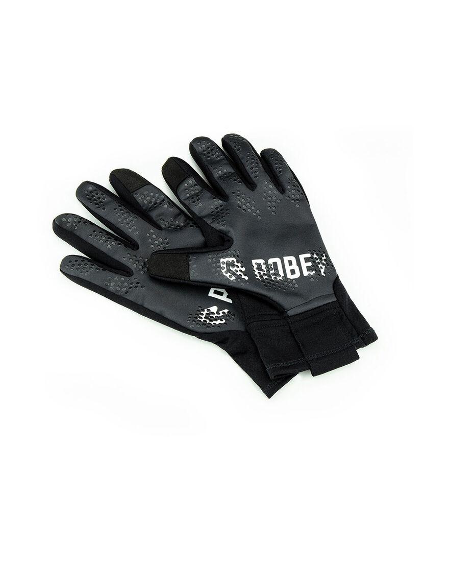 Gloves, Black, hi-res