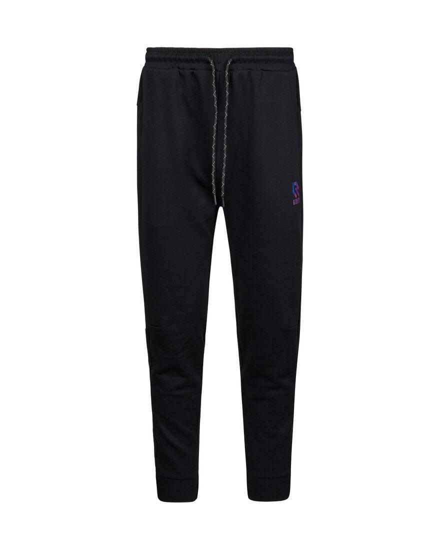 Off Pitch Cotton Pants, Black, hi-res
