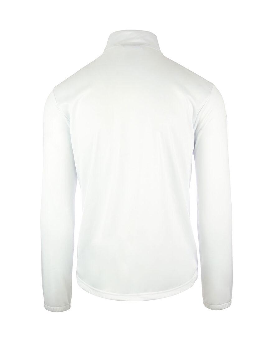 Premier Semi Zip, White, hi-res