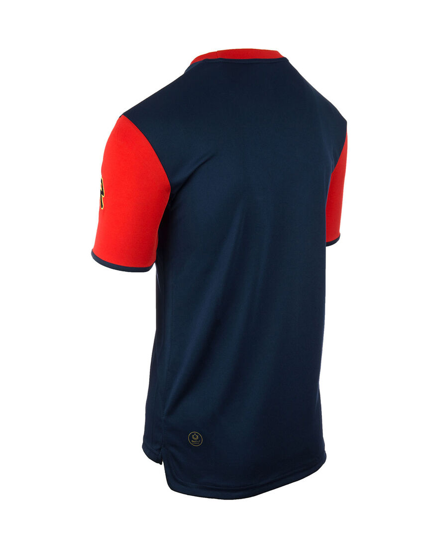 Shirt Icon, Navy/Red Sleeve, hi-res
