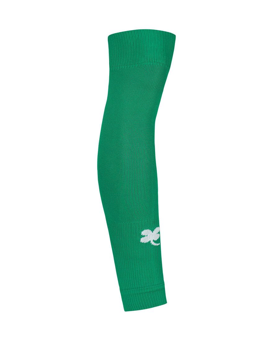Footless Socks, Green, hi-res