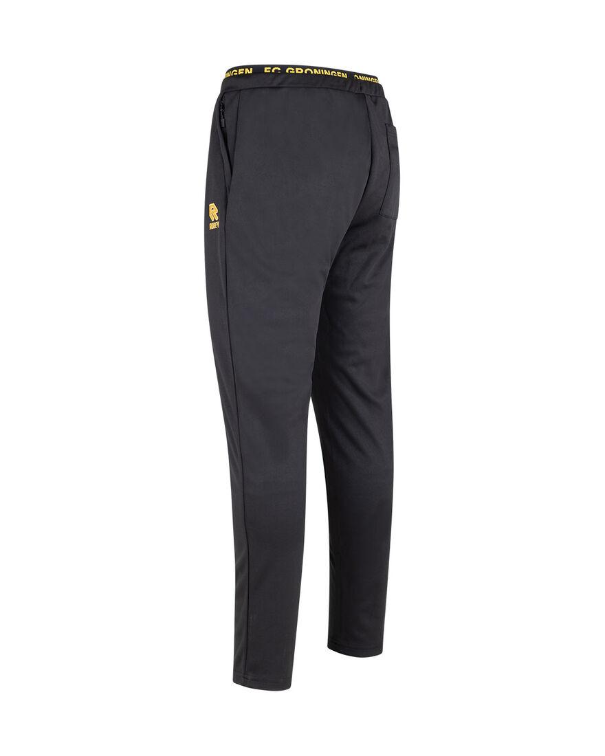 FC Groningen Scuba Pants 21/22, Black/Yellow, hi-res