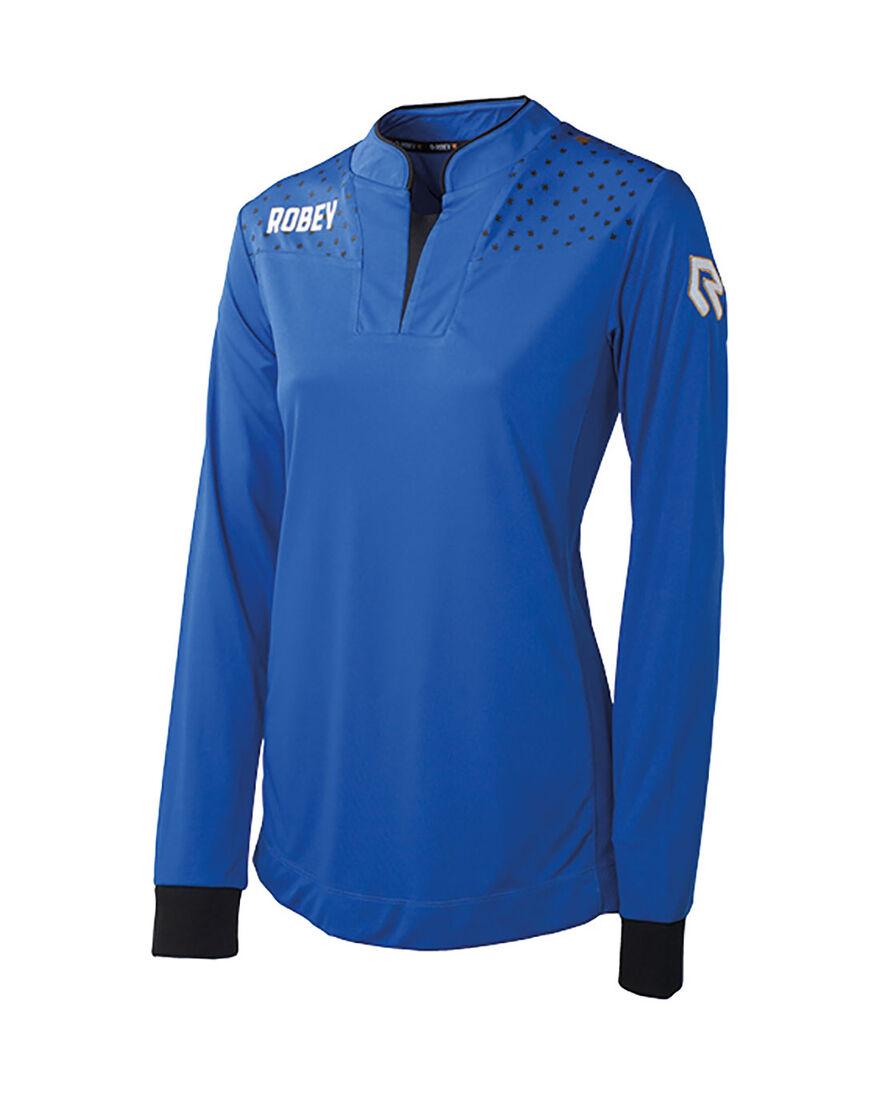 Women Shirt Goalgetter, Royal Blue, hi-res