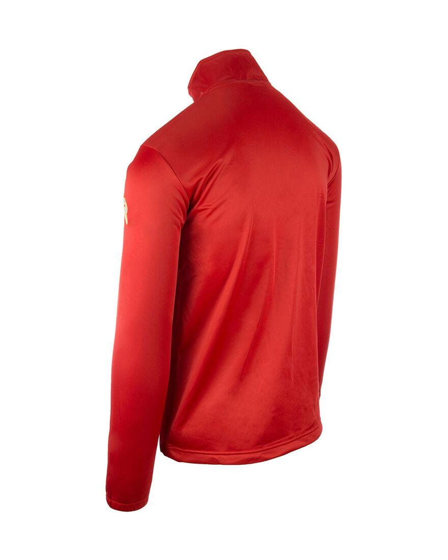 Premier Semi Zip, Red, hi-res