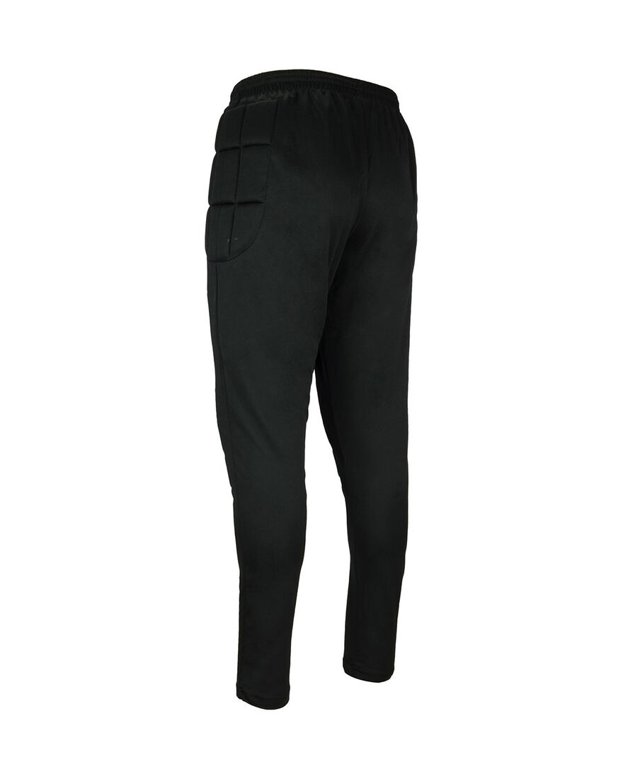 Goalkeeper Pant With Padding, Black, hi-res