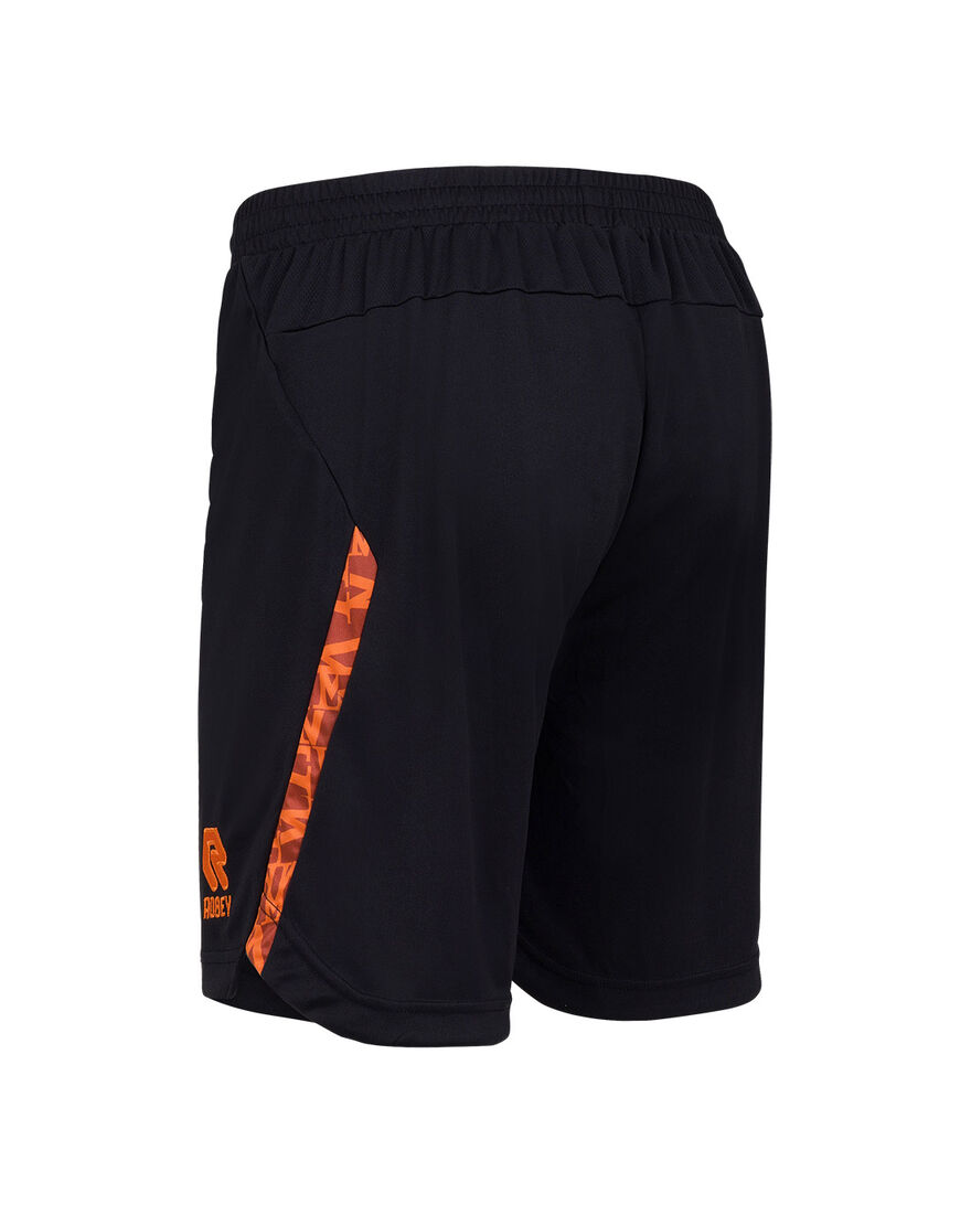 Willem II Performance Short 21/22, Black/Orange, hi-res