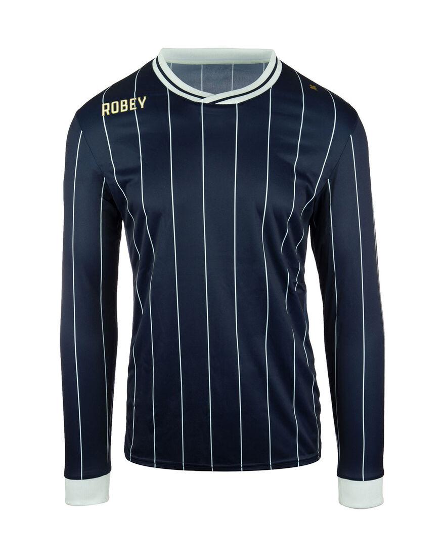 Shirt Pinstripe LS, Navy, hi-res