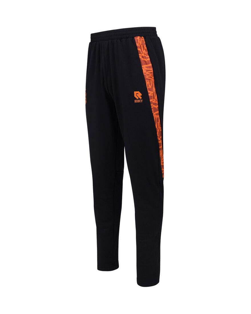 Willem II Performance Pants 21/22, Black/Orange, hi-res