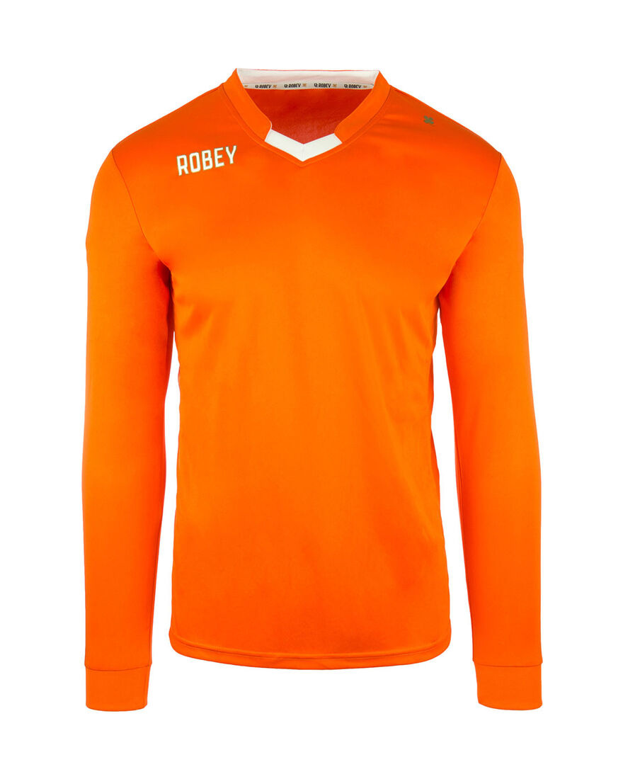 Shirt Hattrick LS, Orange/Miscellaneous, hi-res