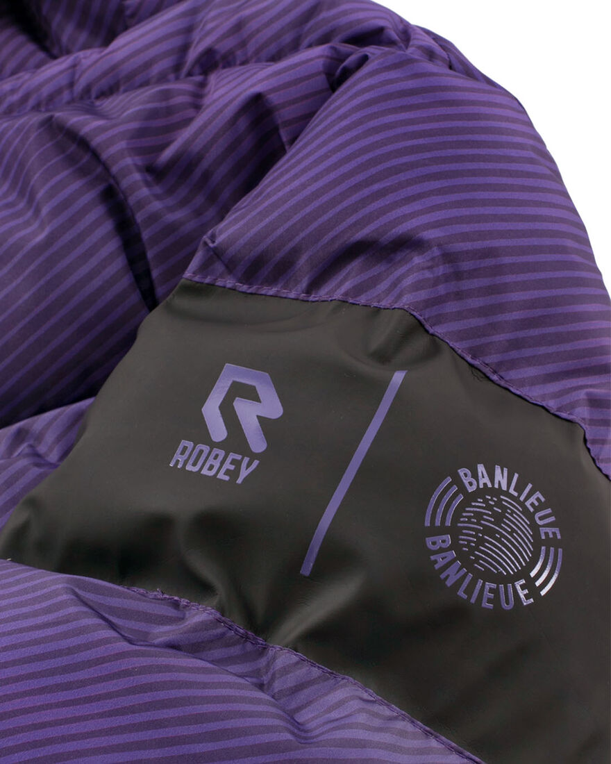 Robey x Banlieue Padded Jacket - Purple, Purple, hi-res