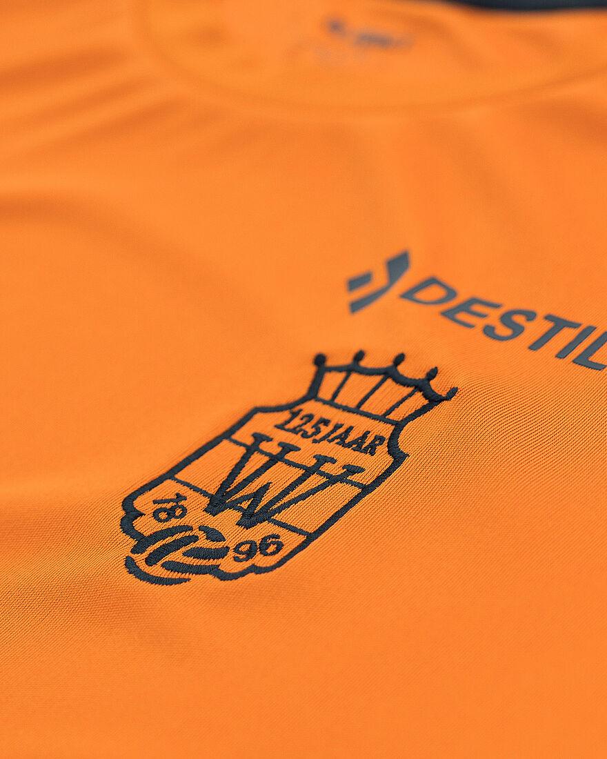 Willem II Performance Shirt 21/22, Orange/Miscellaneous, hi-res