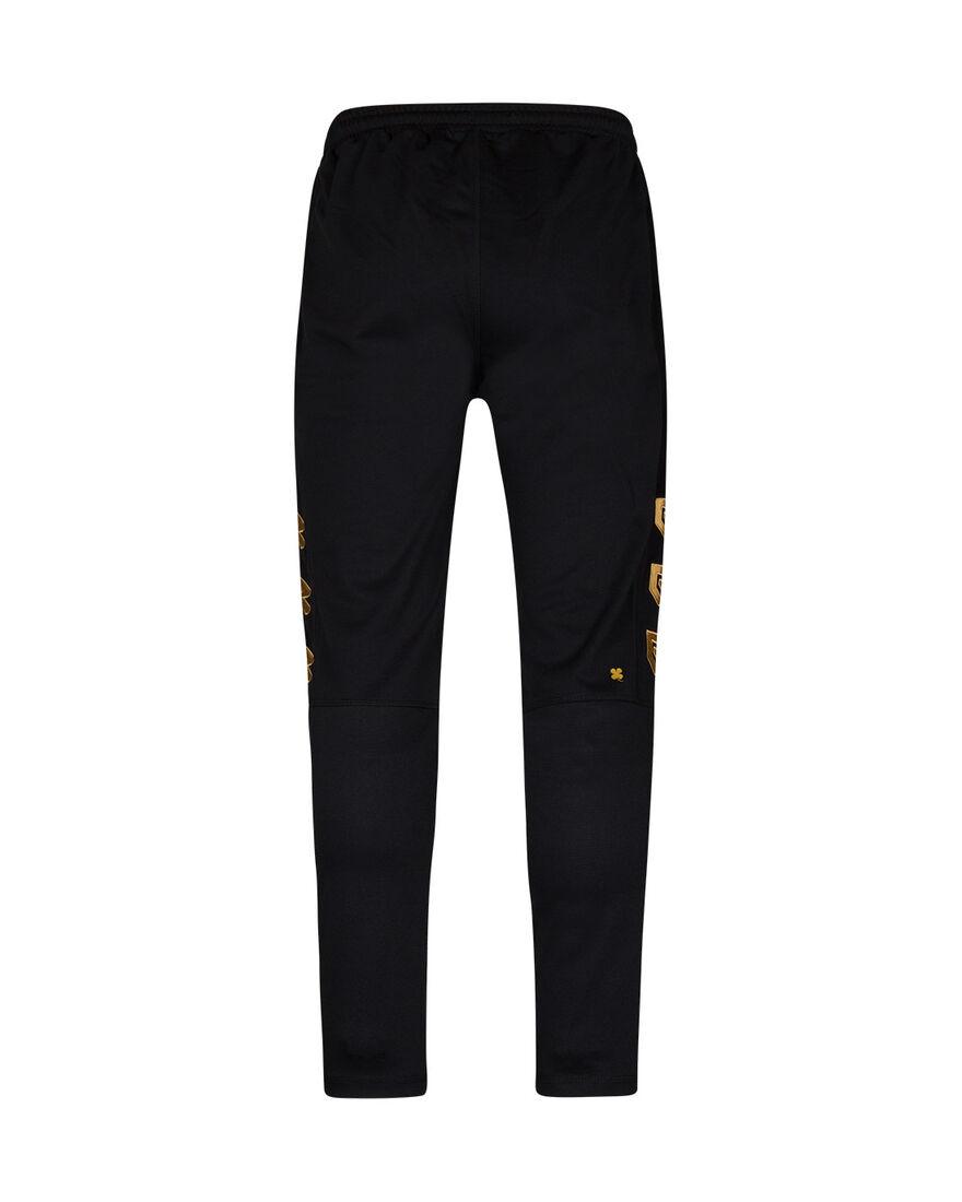 Performance Pants, Black/Gold, hi-res
