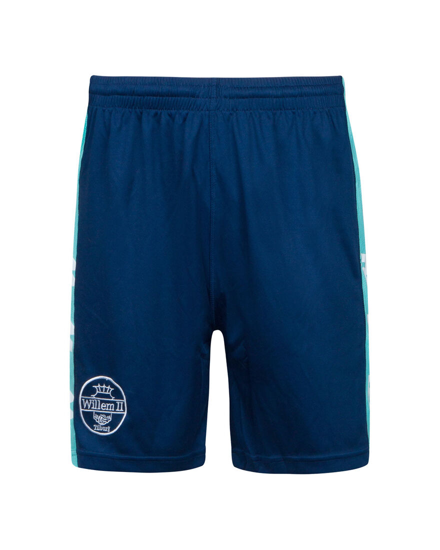 Willem II Performance Short 20/21, Navy/Mint, hi-res