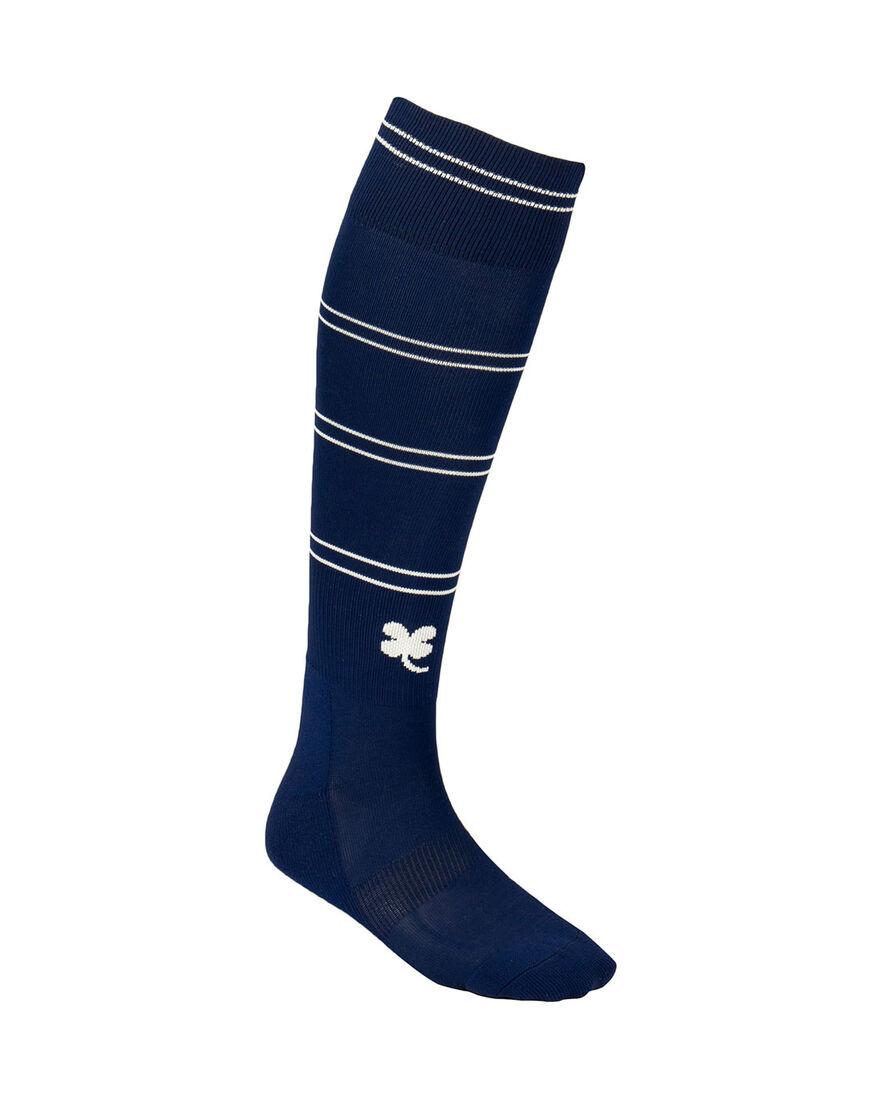 Sartorial Socks, Navy/White Stripe, hi-res