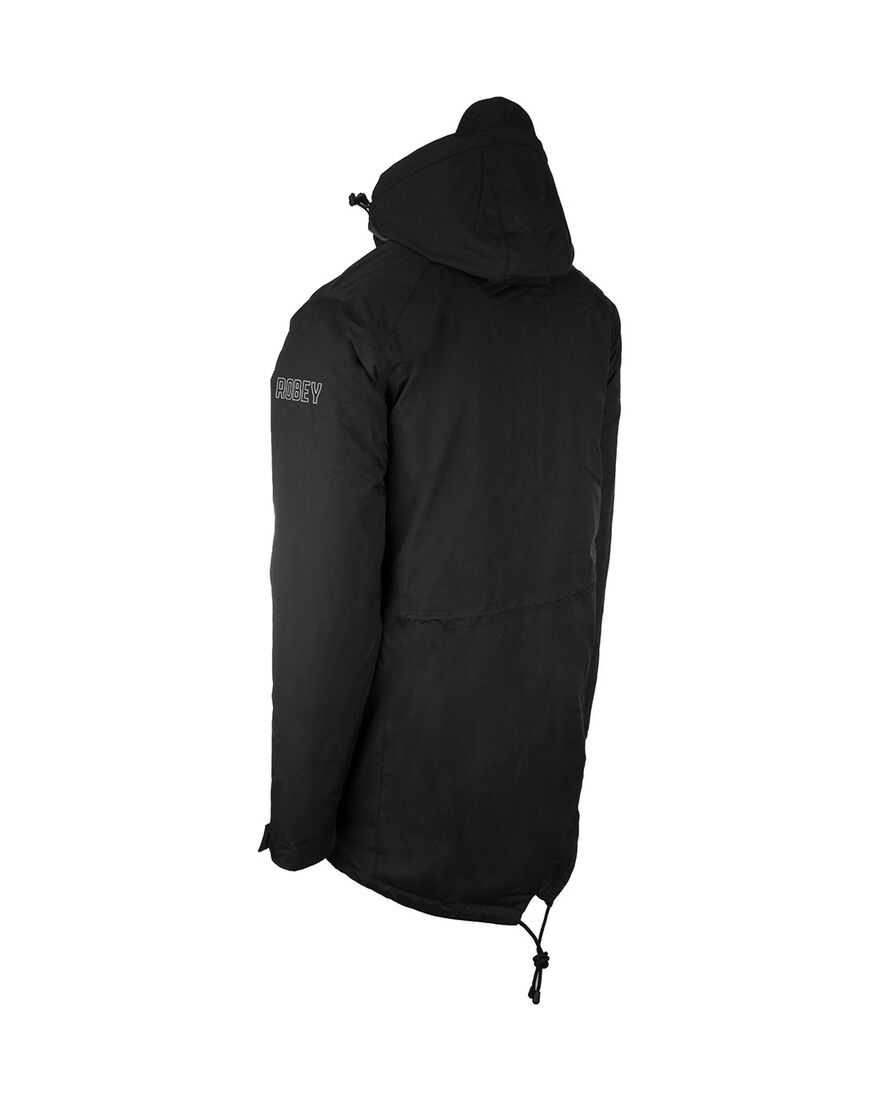 Parka Coach, Black, hi-res