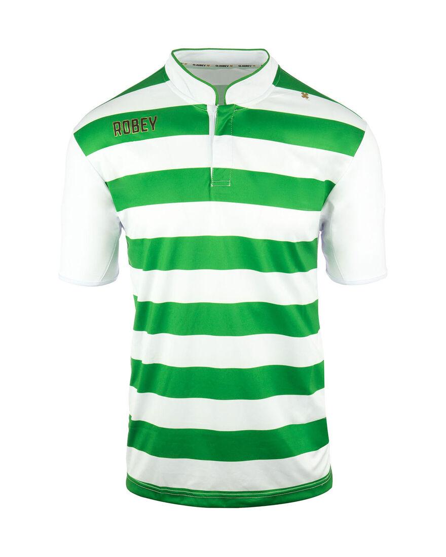 Shirt Legendary SS, Green/White Stripe, hi-res