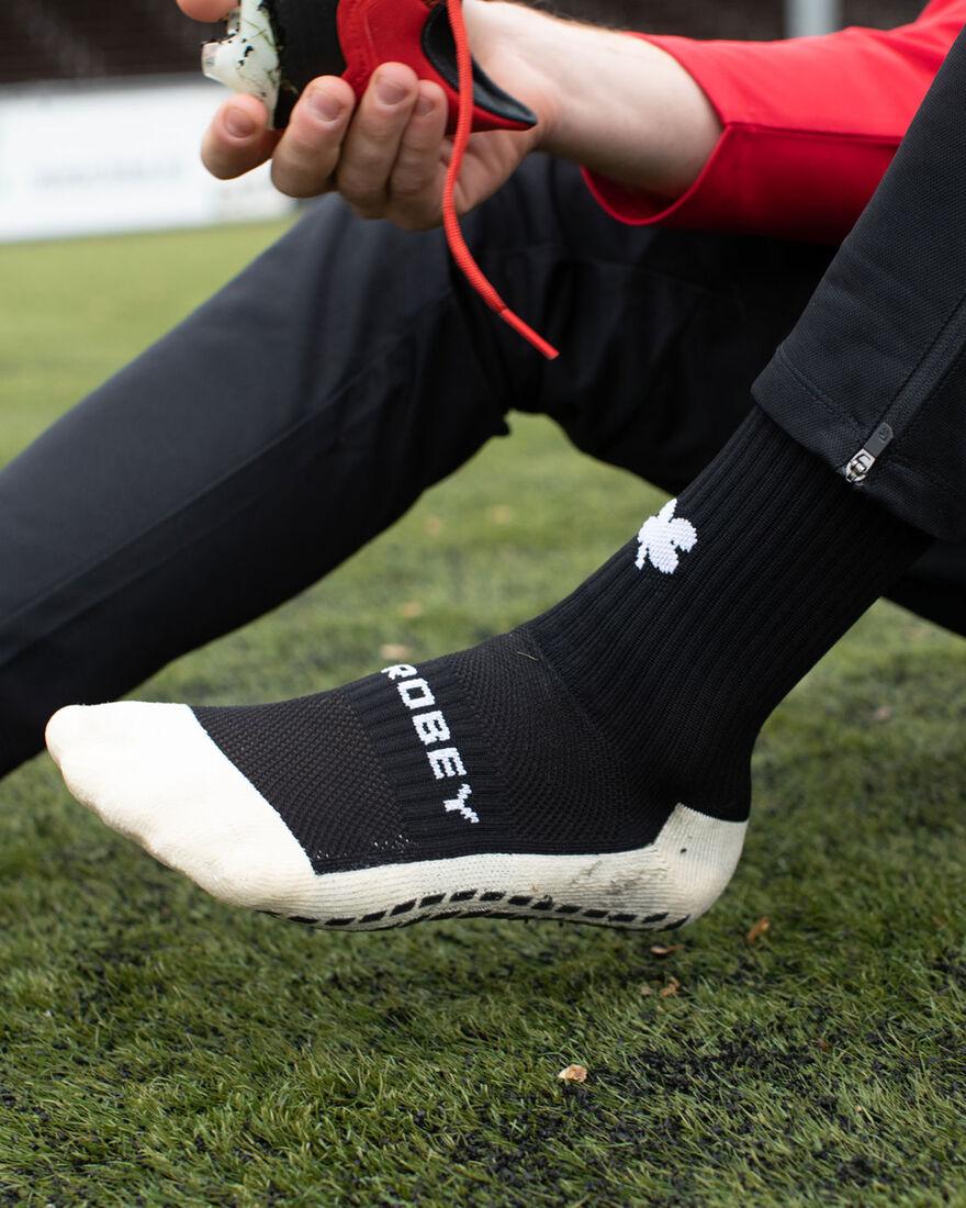 Grip Socks, Black, hi-res
