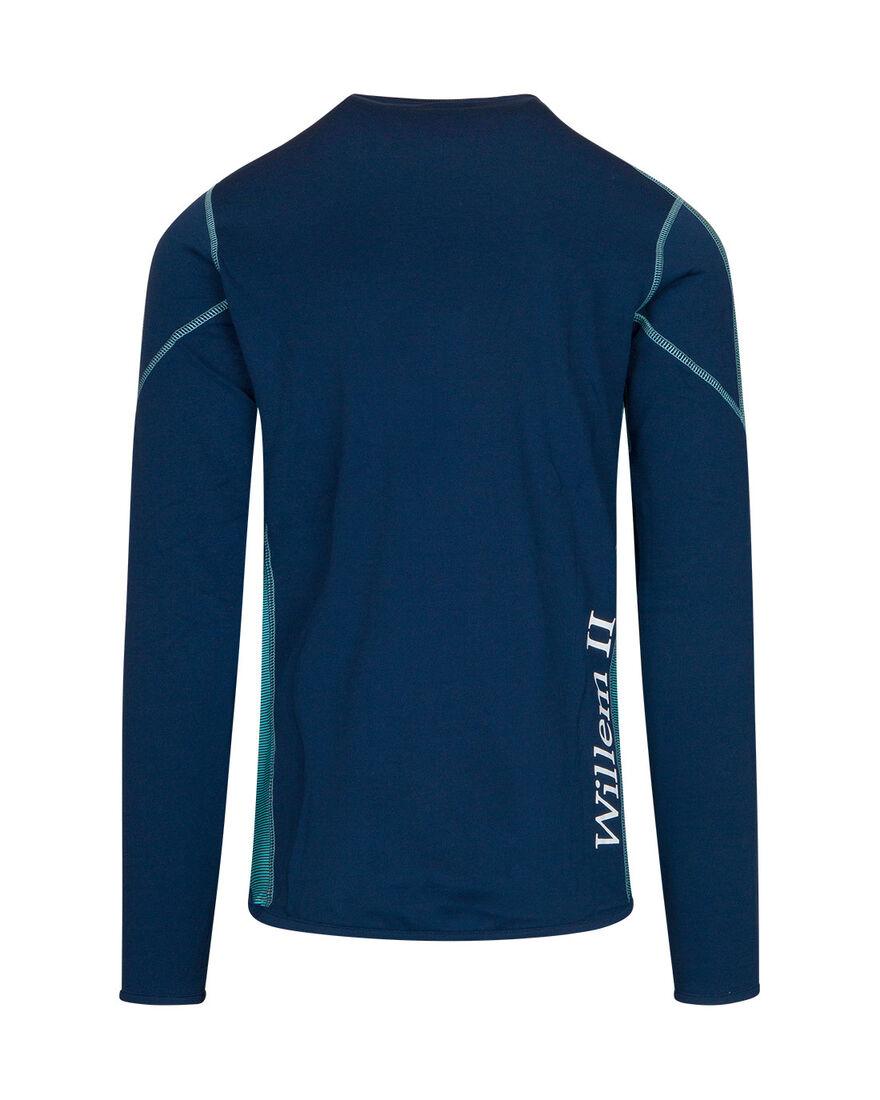 Willem II Performance Sweater 20/21, Navy/Mint, hi-res