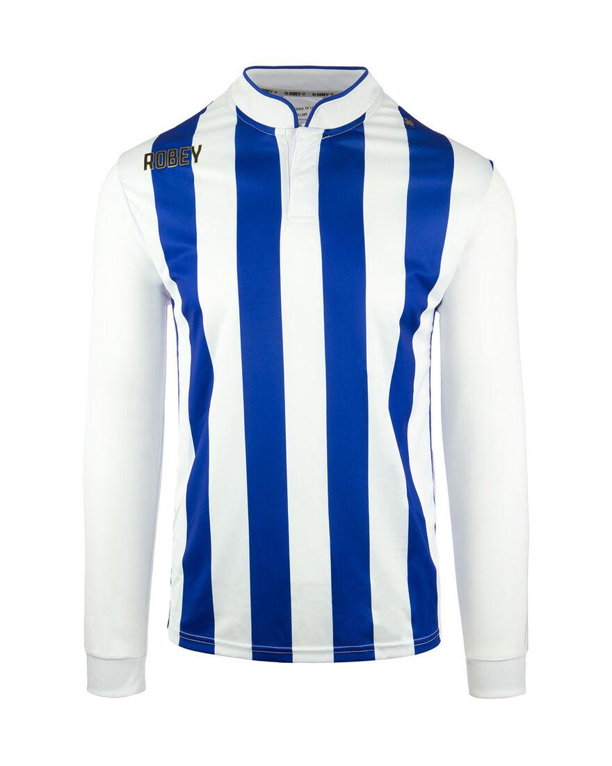 Shirt Winner LS, Blue/White Stripe, hi-res