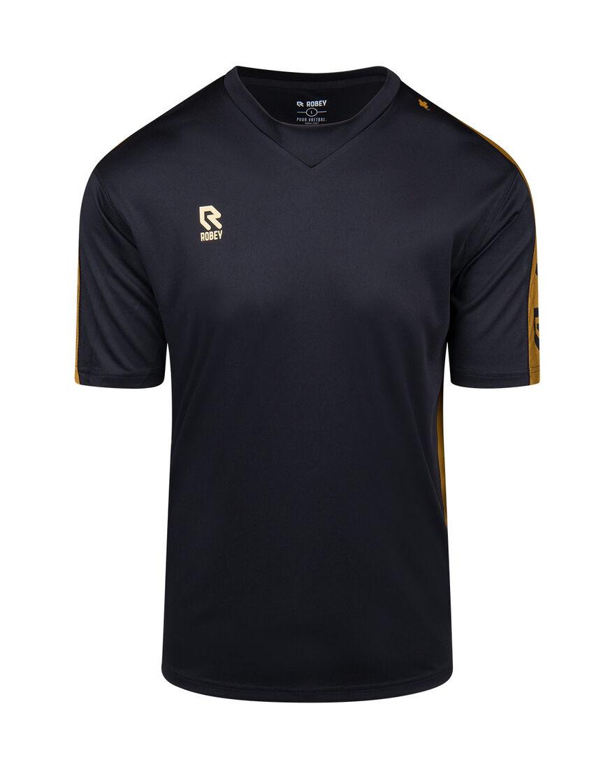 Performance Shirt, Black/Gold, hi-res