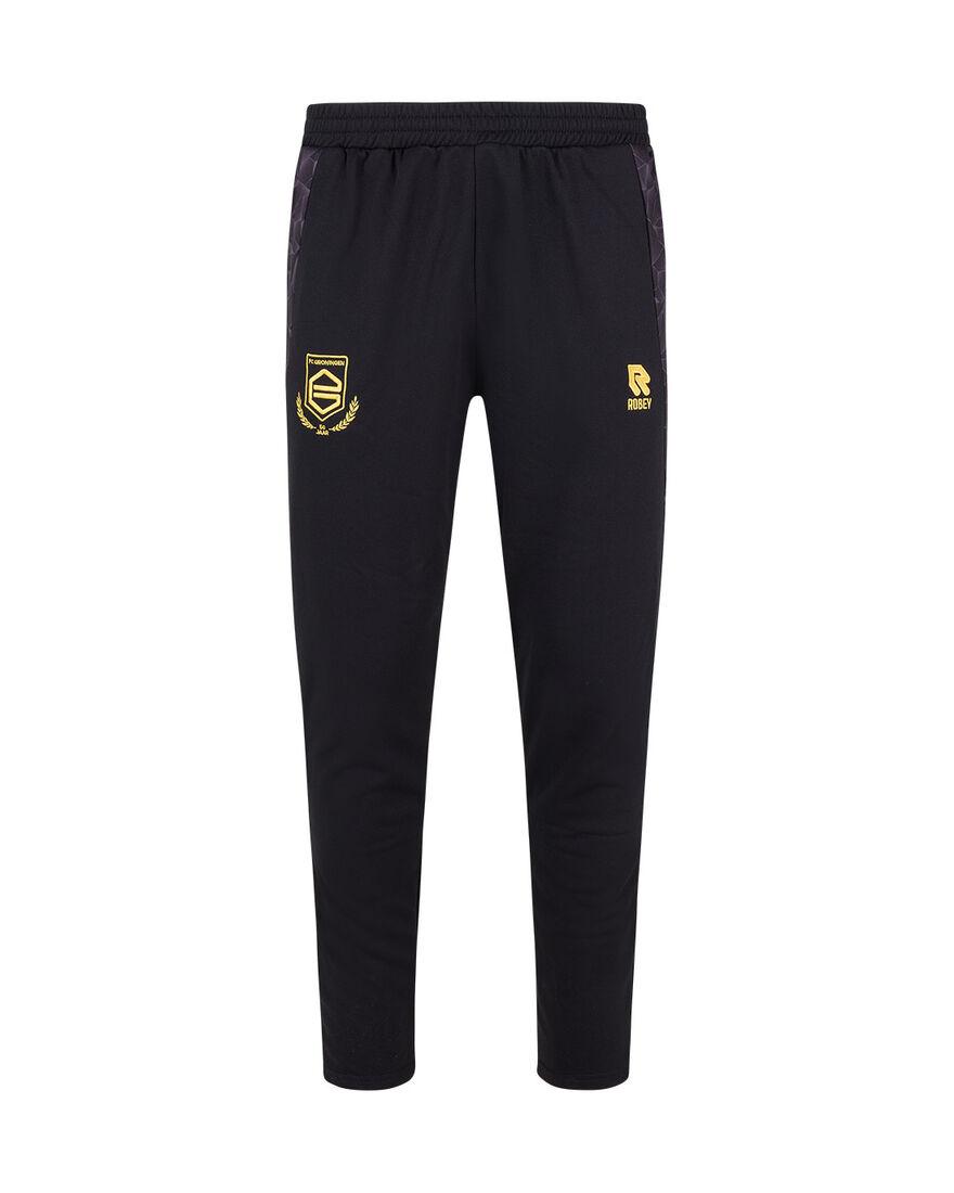 FC Groningen Performance Pants 21/22, Black/Yellow, hi-res