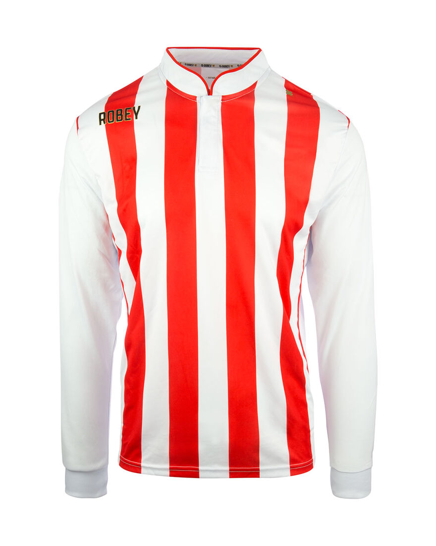 Shirt Winner LS, Red/White Stripe, hi-res