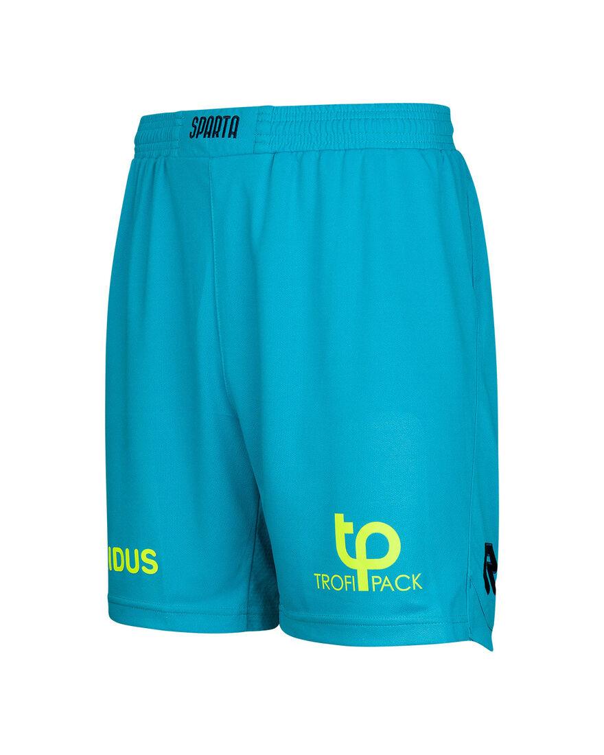 Sparta Match Short 20/21, Turquoise/Black, hi-res
