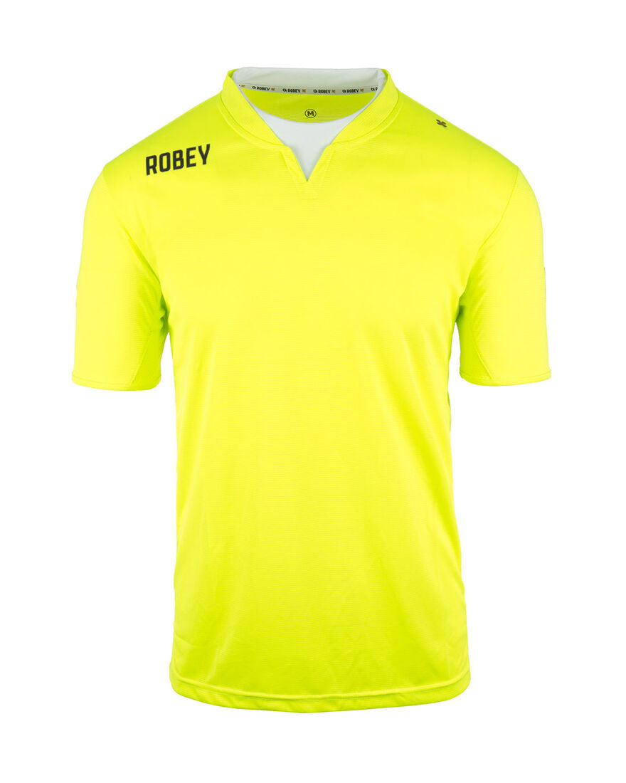 Shirt Catch SS, Neon Yellow, hi-res