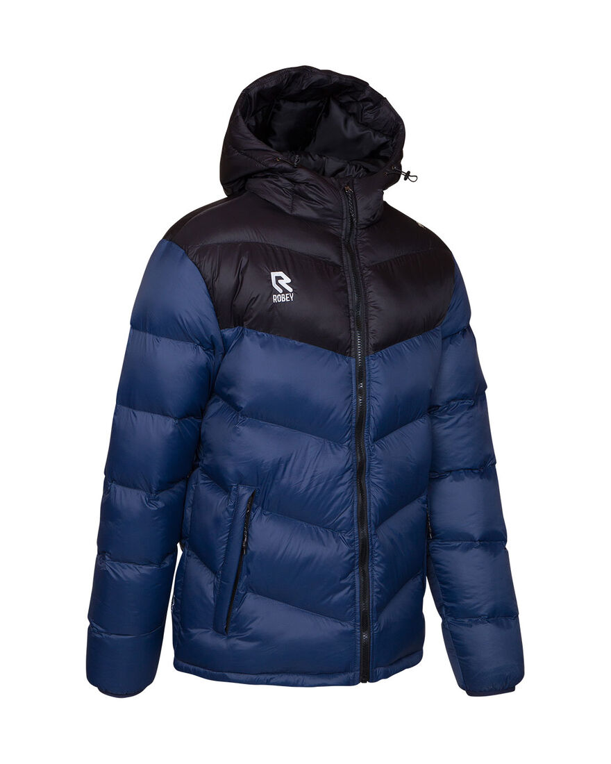 Performance Padded Jacket, Navy/Black, hi-res