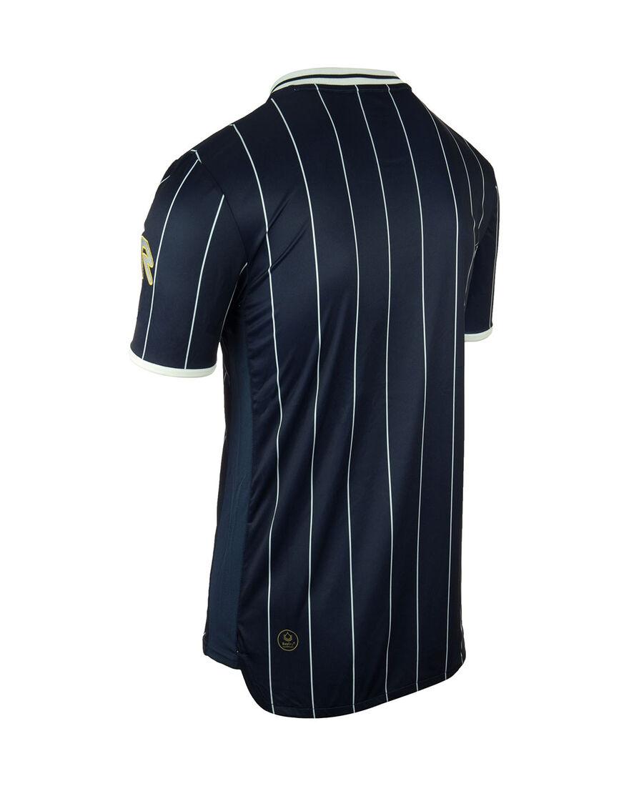 Shirt Pinstripe SS, Navy, hi-res