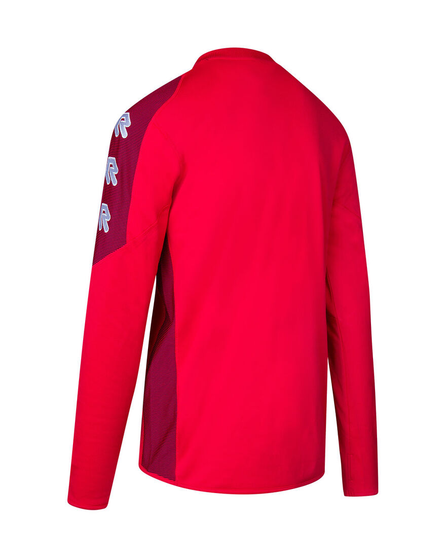 Performance Sweater, Red, hi-res