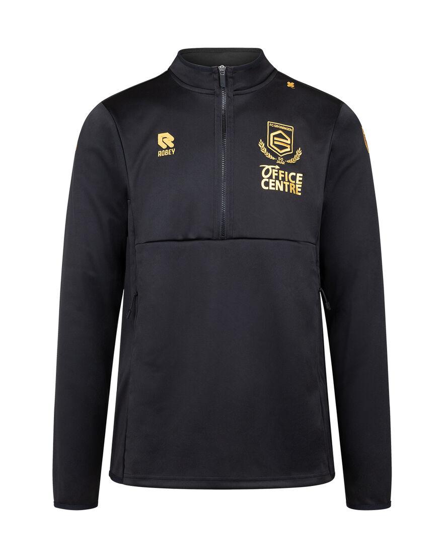 FC Groningen Scuba Jacket 21/22, Black/Yellow, hi-res