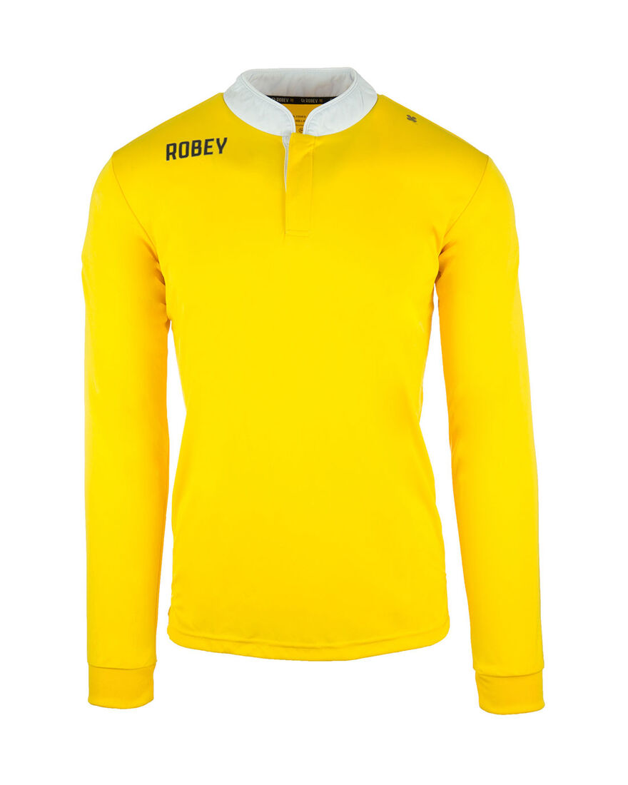 Shirt Kick-Off LS, Yellow, hi-res