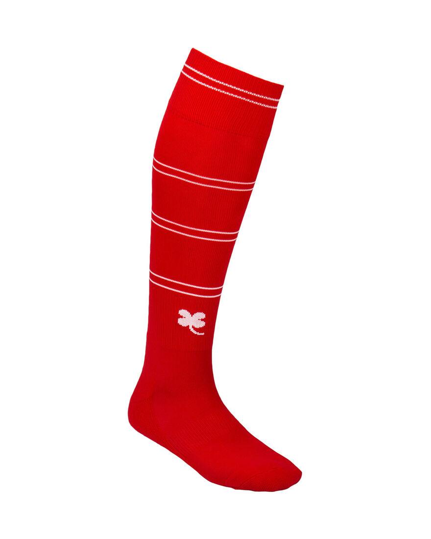 Sartorial Socks, Red/White Stripe, hi-res