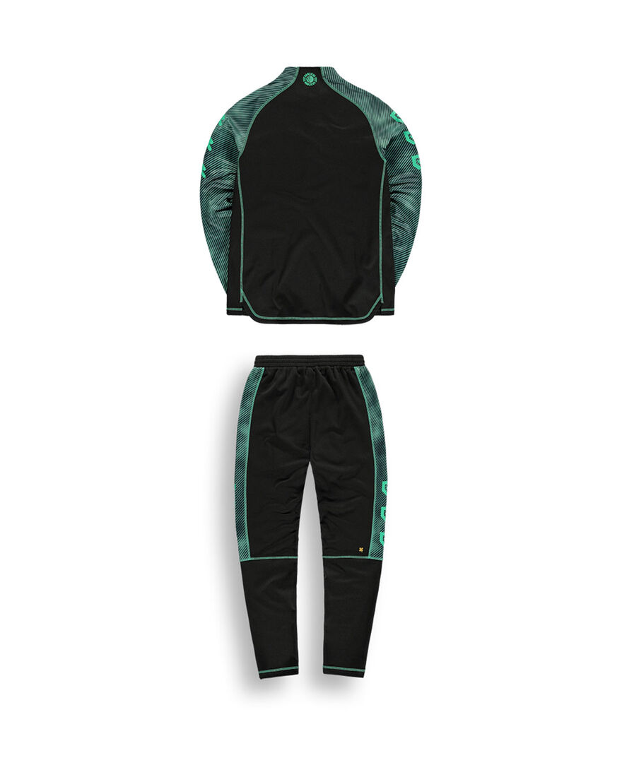 Robey x Banlieue Tracksuit - Black/Green, , hi-res