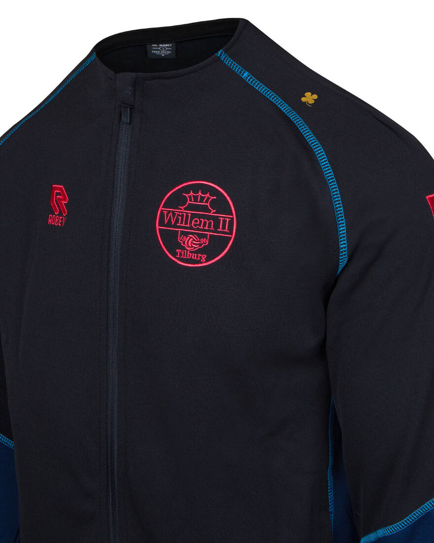 Willem II Performance Full-Zip 20/21, Black/Navy, hi-res