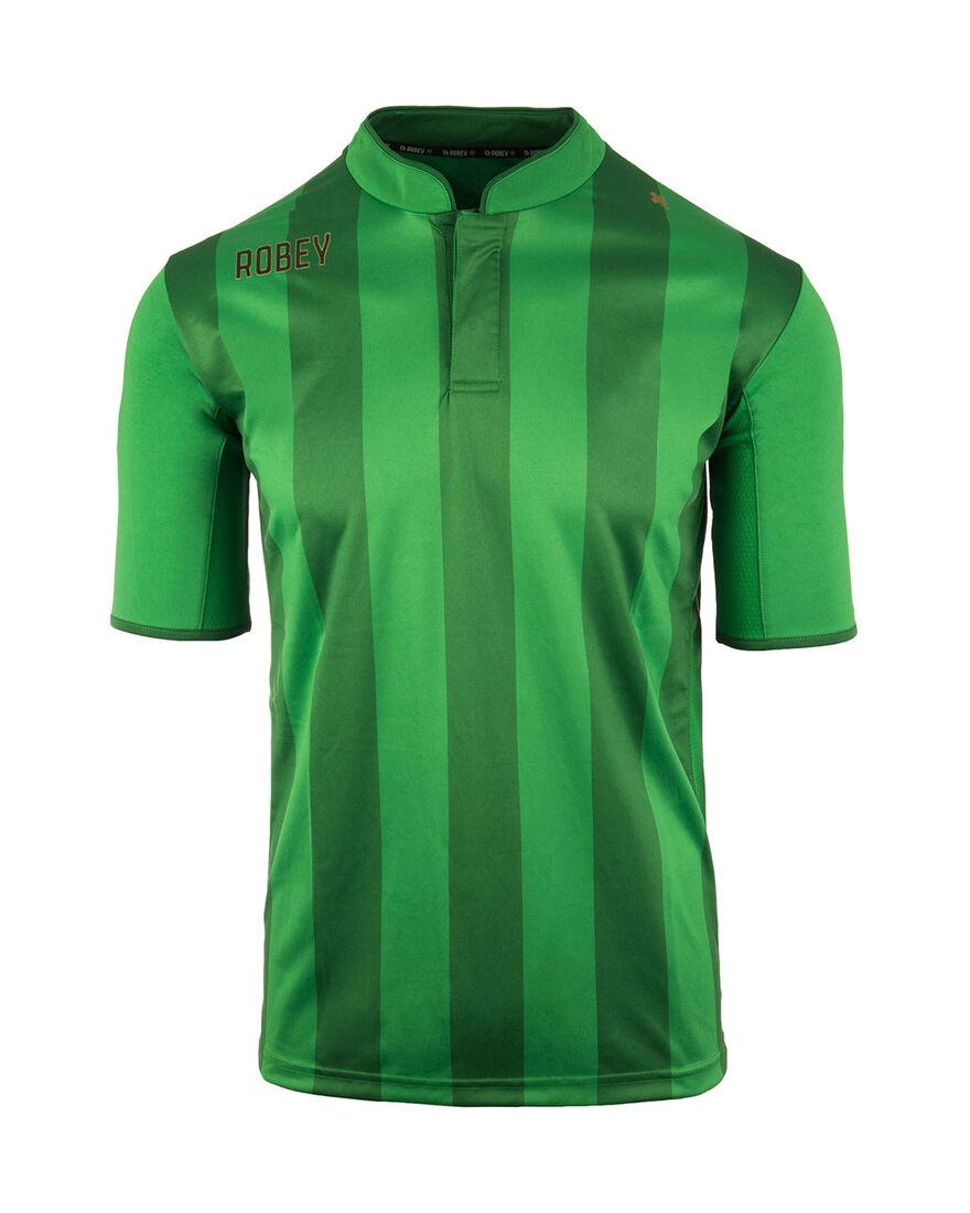 Shirt Winner SS, Green Stripe, hi-res